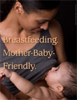 """Breastfeeding Mother-Baby-Friendly"" Mini Poster"